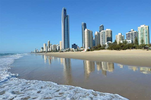 gold coast scenary